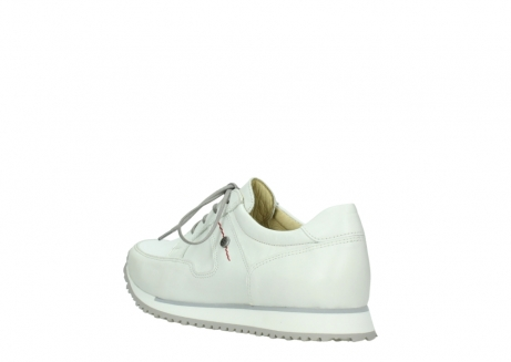 wolky walking shoes 05804 e walk 70100 white stretch leather_4