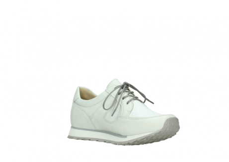 wolky walking shoes 05804 e walk 70100 white stretch leather_16