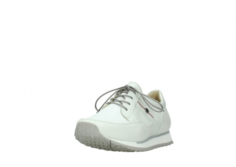 wolky walking shoes 05804 e walk 70100 white stretch leather_21