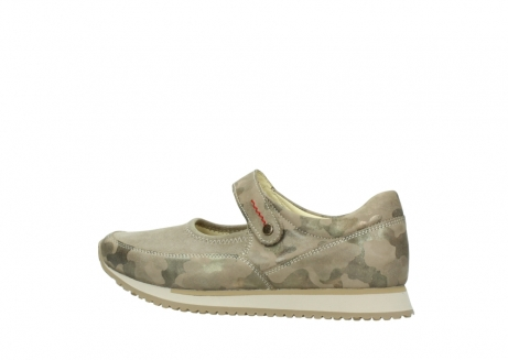 wolky riemchenschuhe 05805 e step 30939 camouflage stretch leder_2