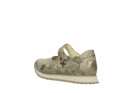 wolky riemchenschuhe 05805 e step 30939 camouflage stretch leder_4