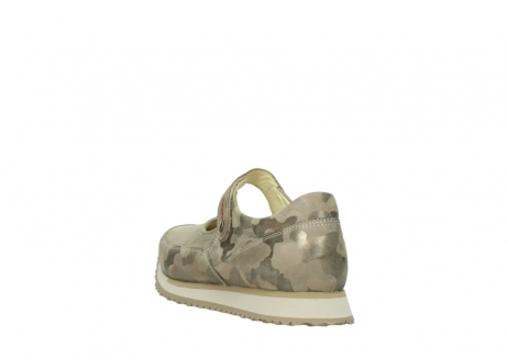 wolky mary janes 05805 e step 30939 camouflage stretch leather_5