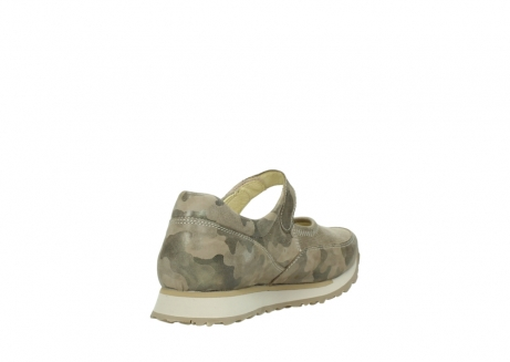 wolky mary janes 05805 e step 30939 camouflage stretch leather_9