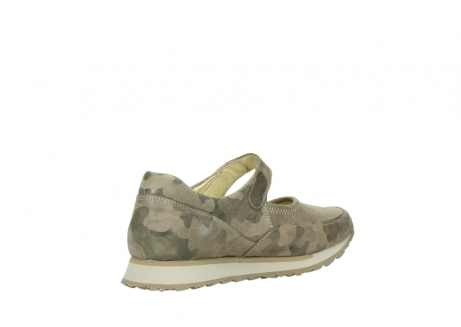 wolky riemchenschuhe 05805 e step 30939 camouflage stretch leder_10