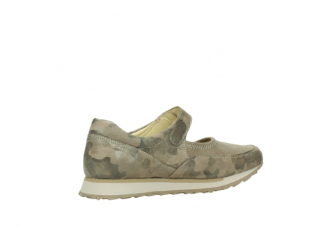 wolky riemchenschuhe 05805 e step 30939 camouflage stretch leder_11