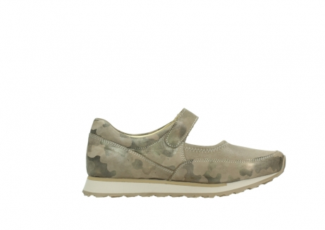 wolky mary janes 05805 e step 30939 camouflage stretch leather_13