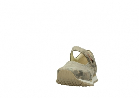 wolky mary janes 05805 e step 30939 camouflage stretch leather_20