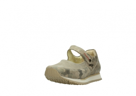 wolky riemchenschuhe 05805 e step 30939 camouflage stretch leder_21