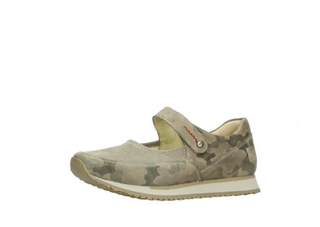 wolky riemchenschuhe 05805 e step 30939 camouflage stretch leder_23