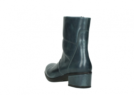 wolky mid calf boots 06030 amsterdam 30283 metal graca leather_5