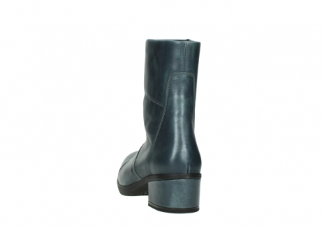 wolky mid calf boots 06030 amsterdam 30283 metal graca leather_6