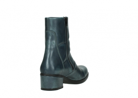 wolky mid calf boots 06030 amsterdam 30283 metal graca leather_9