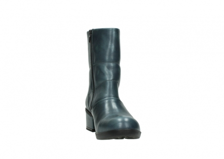wolky mid calf boots 06030 amsterdam 30283 metal graca leather_18