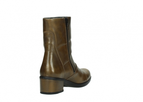 wolky mid calf boots 06030 amsterdam 30363 copper graca leather_9