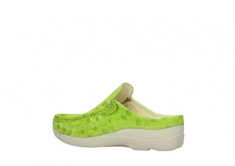 wolky clogs 06202 roll slide 12750 lime nubukleder_3