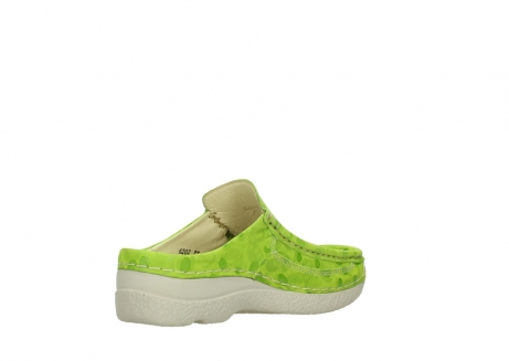 wolky clogs 06202 roll slide 12750 lime nubukleder_10