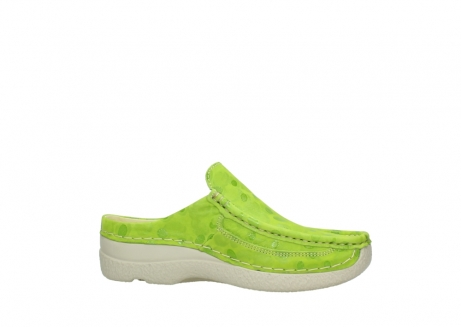 wolky clogs 06202 roll slide 12750 lime nubukleder_14