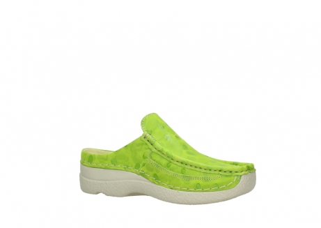 wolky clogs 06202 roll slide 12750 lime nubukleder_15