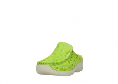 wolky clogs 06202 roll slide 12750 lime nubukleder_21