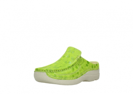 wolky clogs 06202 roll slide 12750 lime nubukleder_22