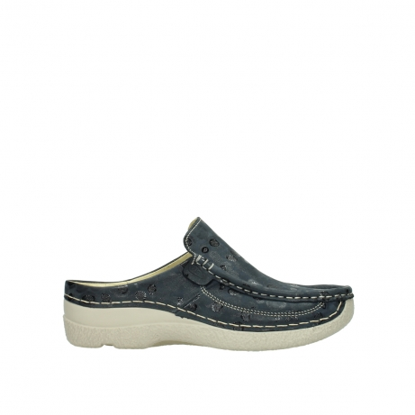wolky clogs 06202 roll slide 12820 denim nubukleder
