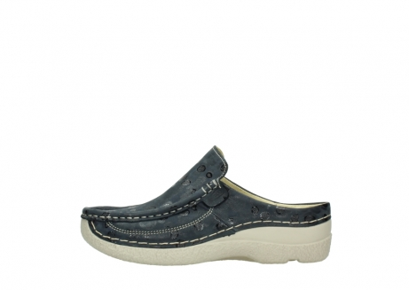 wolky clogs 06202 roll slide 12820 denim nubukleder_1