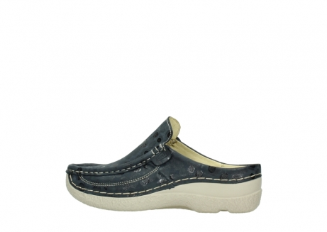 wolky clogs 06202 roll slide 12820 denim nubukleder_2