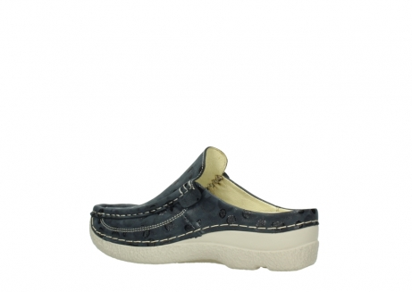 wolky clogs 06202 roll slide 12820 denim nubukleder_3