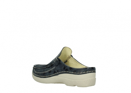 wolky clogs 06202 roll slide 12820 denim nubukleder_4