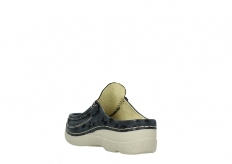 wolky clogs 06202 roll slide 12820 denim nubukleder_5