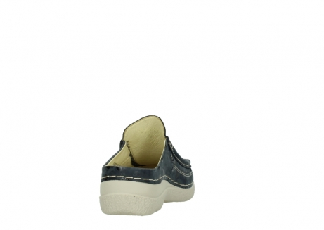 wolky clogs 06202 roll slide 12820 denim nubukleder_8