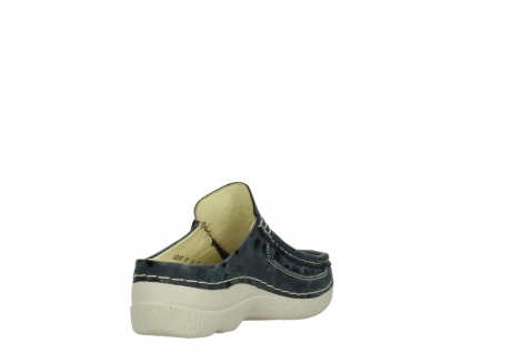 wolky clogs 06202 roll slide 12820 denim nubukleder_9