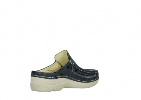 wolky clogs 06202 roll slide 12820 denim nubukleder_10