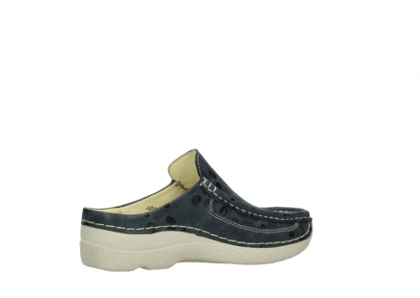 wolky clogs 06202 roll slide 12820 denim nubukleder_11