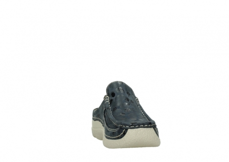 wolky clogs 06202 roll slide 12820 denim nubukleder_18