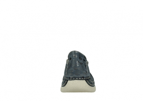 wolky clogs 06202 roll slide 12820 denim nubukleder_19