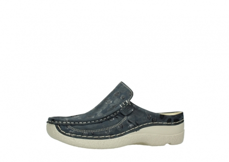 wolky clogs 06202 roll slide 12820 denim nubukleder_24