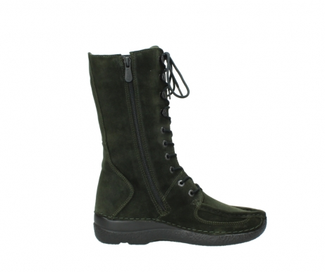 wolky mid calf boots 06210 roll fashion 40730 forest green oiled suede_13