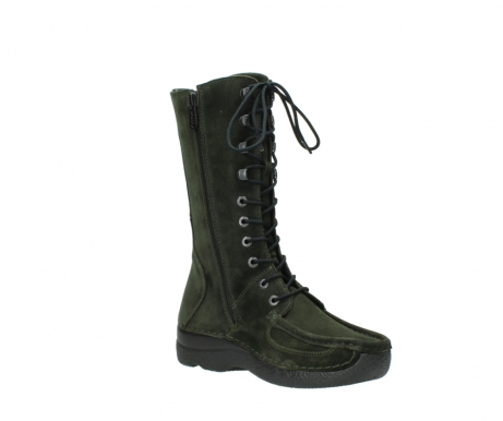 wolky mid calf boots 06210 roll fashion 40730 forest green oiled suede_16