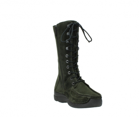 wolky mid calf boots 06210 roll fashion 40730 forest green oiled suede_17