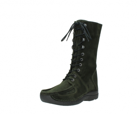 wolky mid calf boots 06210 roll fashion 40730 forest green oiled suede_22