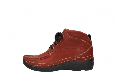 wolky lace up boots 06242 roll shoot 11542 winter red nubuck_1
