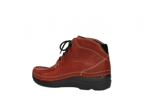 wolky lace up boots 06242 roll shoot 11542 winter red nubuck_3