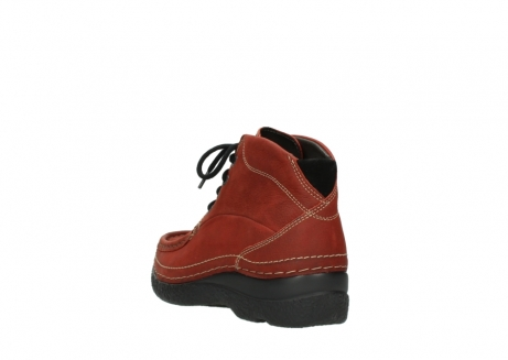 wolky lace up boots 06242 roll shoot 11542 winter red nubuck_5