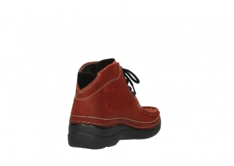 wolky lace up boots 06242 roll shoot 11542 winter red nubuck_9