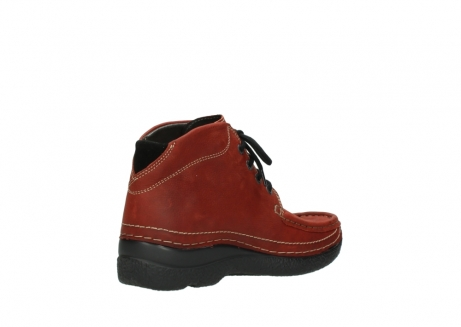 wolky lace up boots 06242 roll shoot 11542 winter red nubuck_10