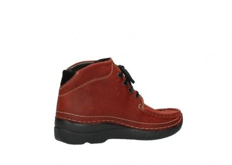 wolky lace up boots 06242 roll shoot 11542 winter red nubuck_11