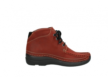wolky lace up boots 06242 roll shoot 11542 winter red nubuck_13