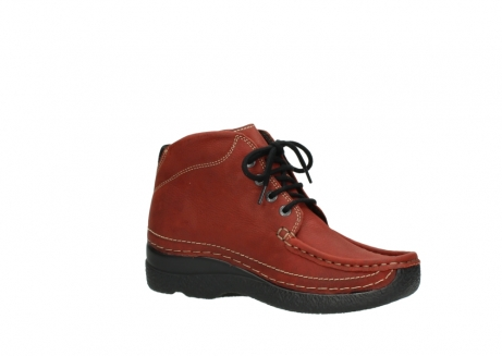 wolky lace up boots 06242 roll shoot 11542 winter red nubuck_15