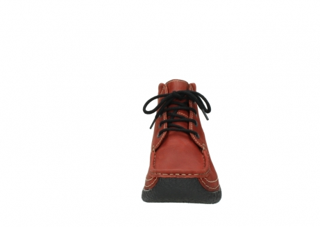 wolky lace up boots 06242 roll shoot 11542 winter red nubuck_19